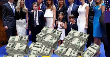 Donald Trump's family and their money