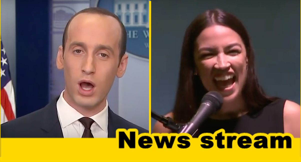 """Stephen Miller Rips AOC for """"Concentration Camp"""" Remark """"As a Jew, I'm Outraged"""""""