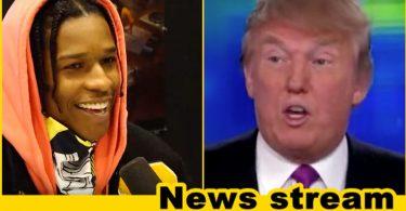 BREAKING: Trump Vows to Help American Rapper Imprisoned in Sweden