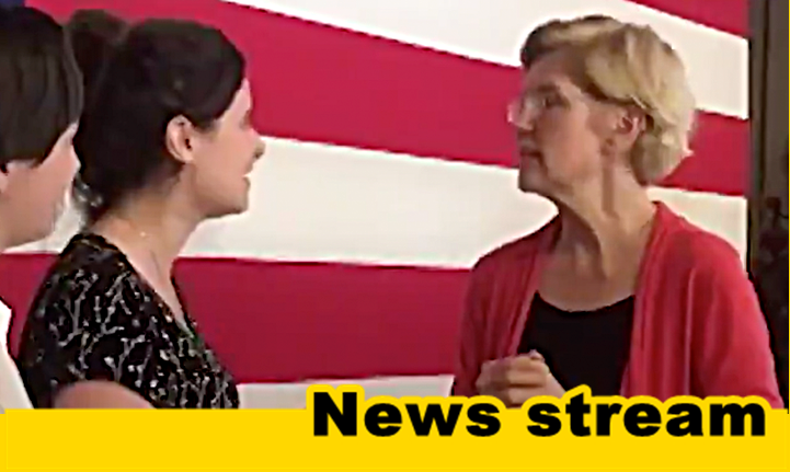 "WATCH: Warren Vows to Take Action Against Israeli ""Occupation"" if Elected President"