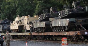 Tanks for Trump's July 4th Celebration Spotted
