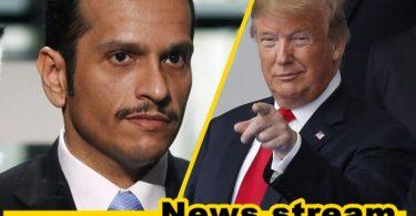 Trump meeting in Washington DC Qatar officially