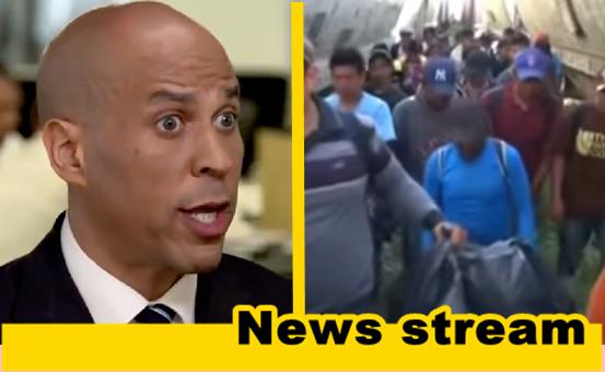 Cory Booker Personally Escorts Asylum Seeking Migrants Across U.S Border