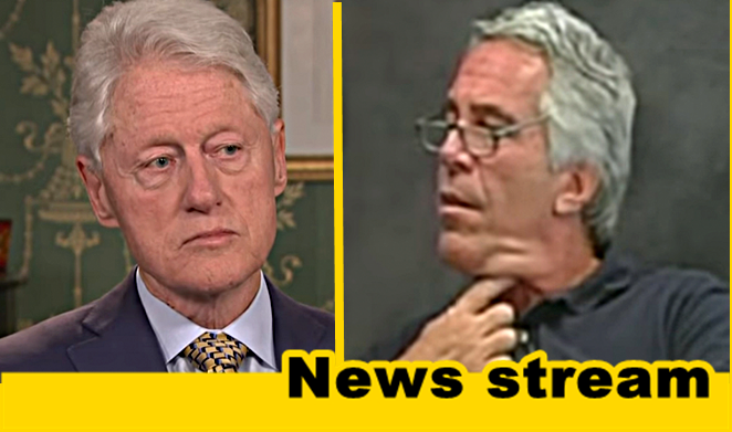 """BREAKING: Epstein Victim Says She Saw Bill Clinton at """"Orgy Island,"""" Contradicts His Denial"""