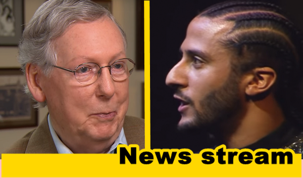 Mitch McConnell Angers Kaepernick Fans by Tweeting Betsy Ross Flag!