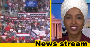 """Omar Claims Trump Rally Reminded Her of """"Horrors"""" of """"Civil War in Somalia"""""""