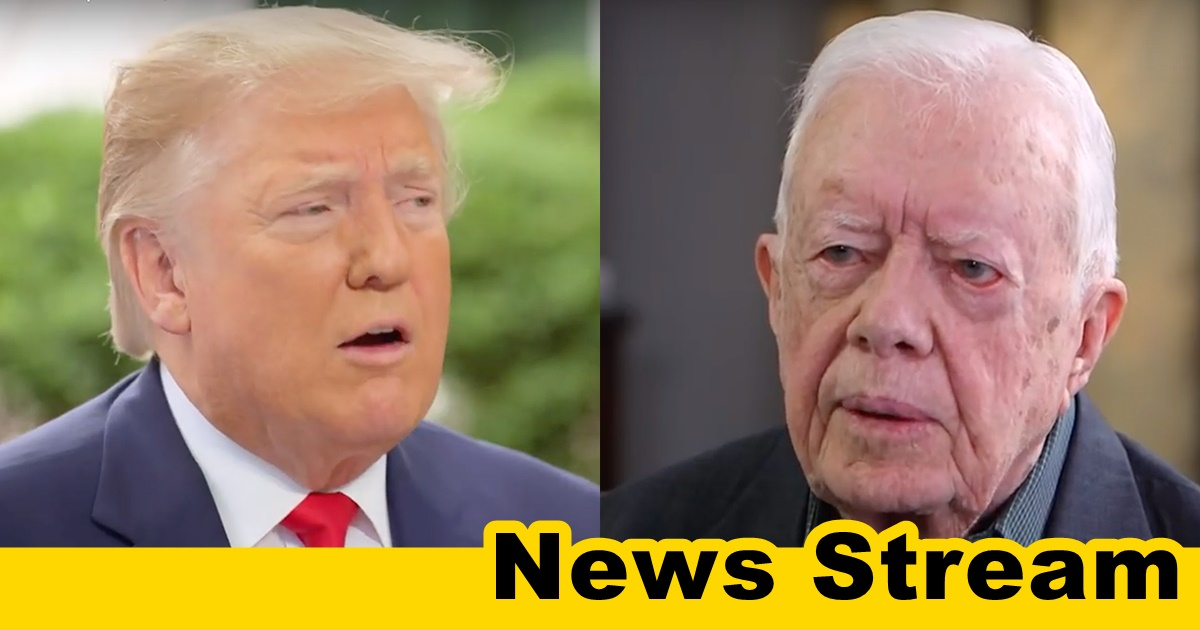 "Trump Fires Back at Jimmy Carter ""A Terrible President"""