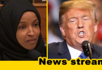 "Trump Says Squad Member Ilhan Omar is ""Lucky to Be Where She Is"""