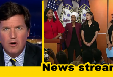 "WATCH: Tucker Argues When ""The Squad"" Is Talking, Dems are Losing"