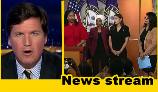 """WATCH: Tucker Argues When """"The Squad"""" Is Talking, Dems are Losing"""
