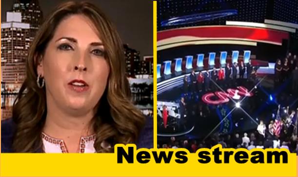 "WATCH: McDaniel Says Dem Debate Unveiled a ""Total Socialist Plan"""