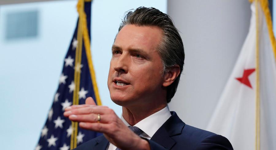 California Gov. Gavin Newsom updates the state's response to the coronavirus. | AP Photo