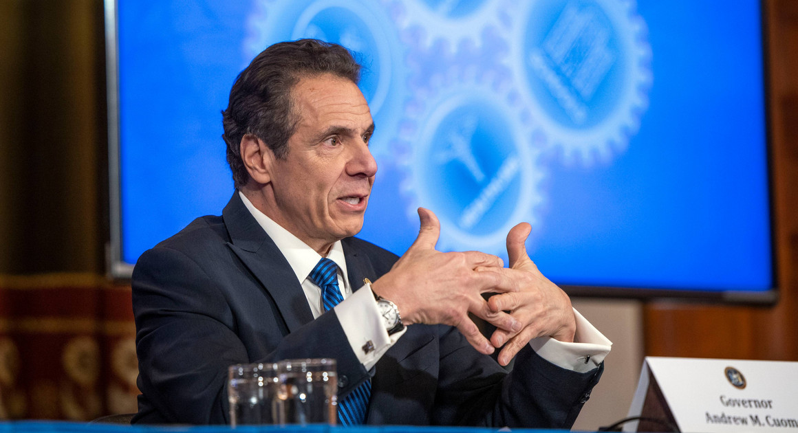 Gov. Andrew Cuomo provides a coronavirus update during a press conference on April 14 | Office of Governor Andrew M. Cuomo