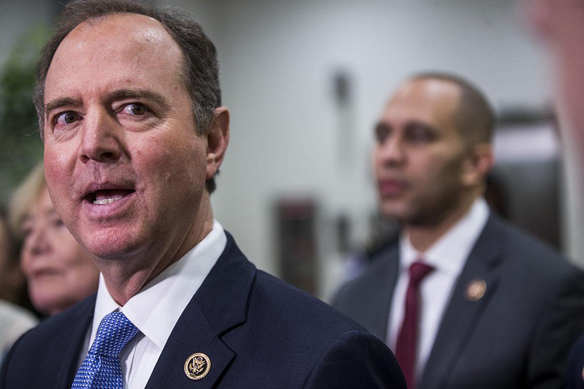 House Intelligence Chairman Adam Schiff