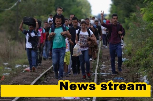 Две групи мигранти са заловени до границата ни !